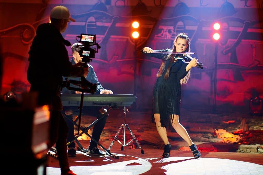 Sandra Hiie ja Frants Tikerpuu muusikavideo võtted